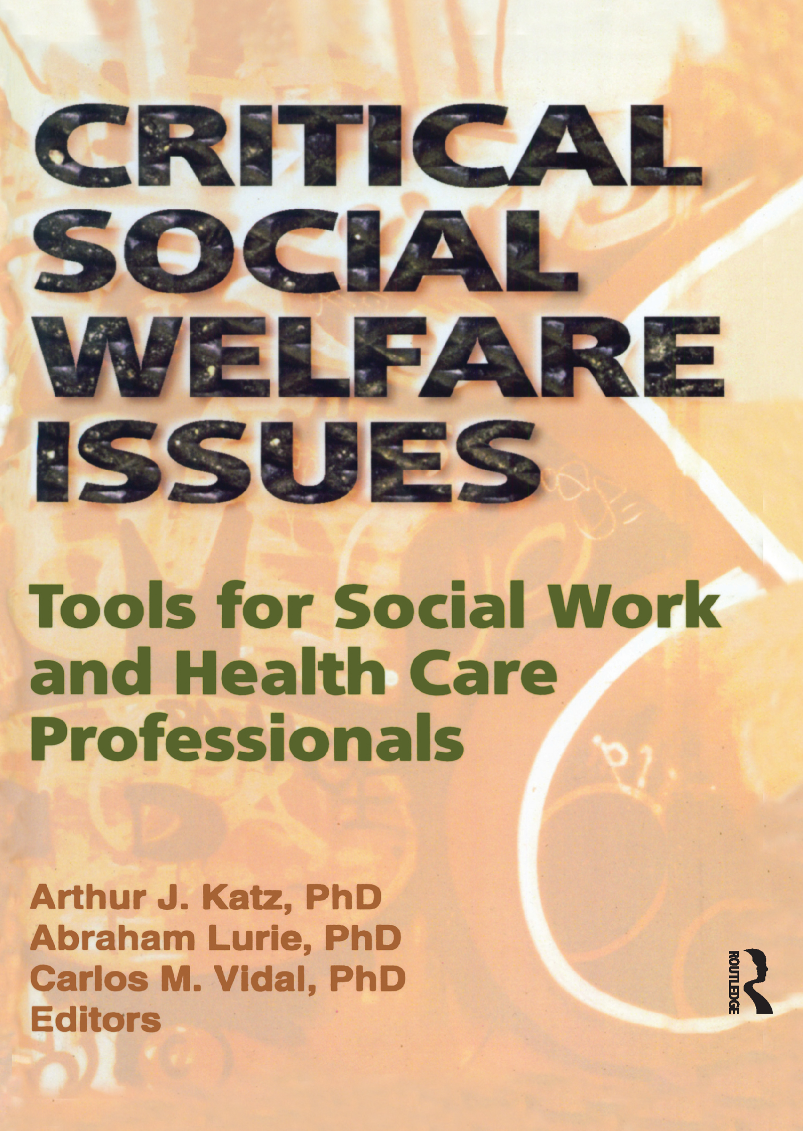 Critical Social Welfare Issues: Tools for Social Work and Health Care Professionals (Hardback) book cover