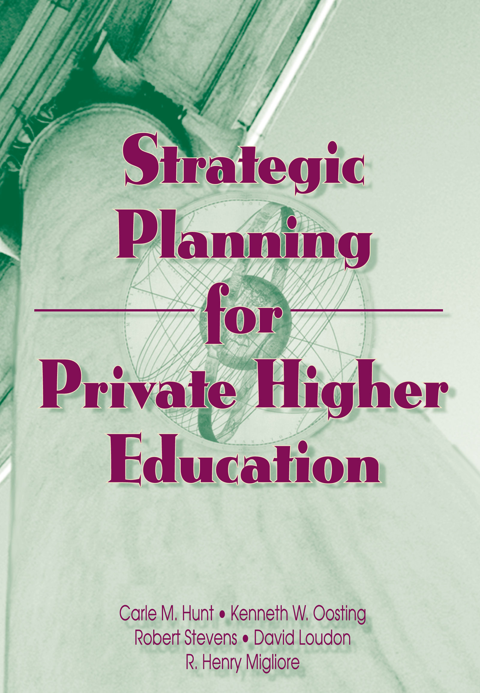 Strategic Planning for Private Higher Education (e-Book) book cover