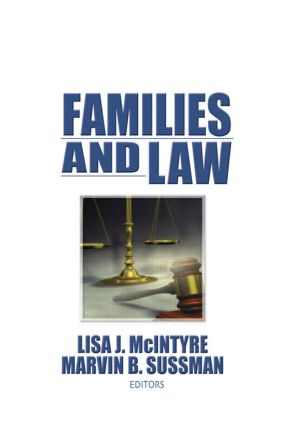 Families and Law (Paperback) book cover