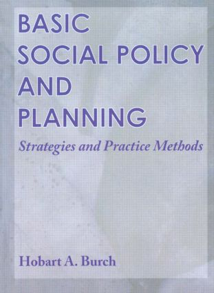 Basic Social Policy and Planning