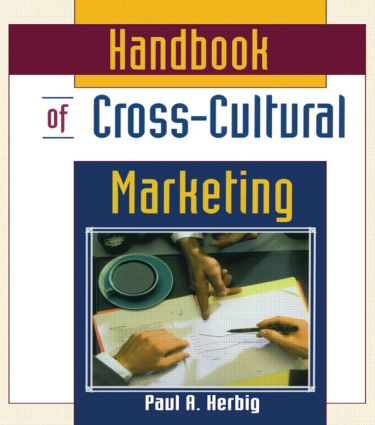 Handbook of Cross-Cultural Marketing: 1st Edition (Paperback) book cover