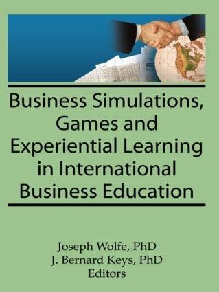 Business Simulations, Games, and Experiential Learning in International Business Education (Paperback) book cover