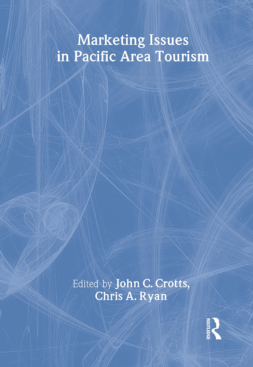 Marketing Issues in Pacific Area Tourism: 1st Edition (Paperback) book cover