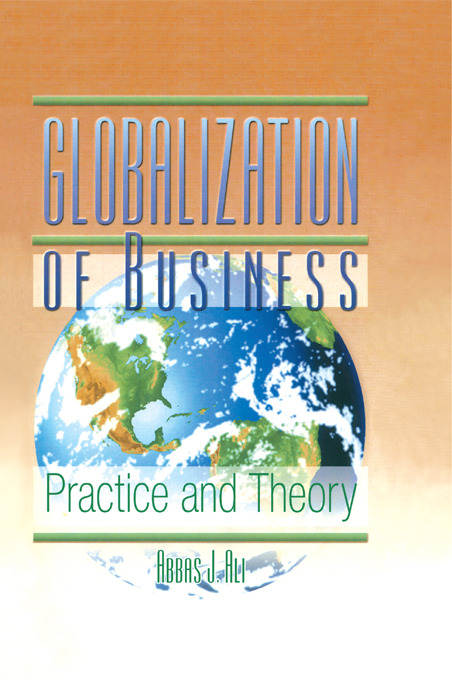 Globalization of Business: Practice and Theory (Hardback) book cover