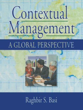 Contextual Management: A Global Perspective, 1st Edition (Hardback) book cover