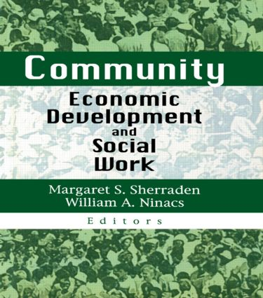 Community Economic Development and Social Work (Hardback) book cover