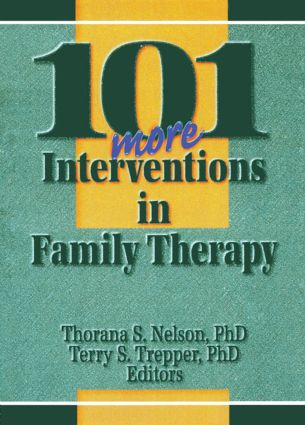 101 More Interventions in Family Therapy: 1st Edition (Paperback) book cover