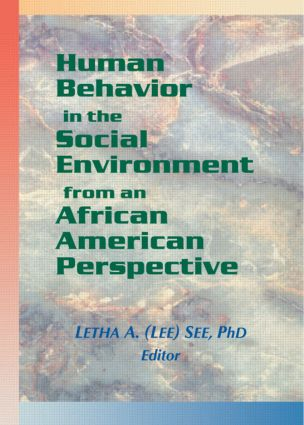 Human Behavior in the Social Environment from an African American Perspective: 1st Edition (Paperback) book cover