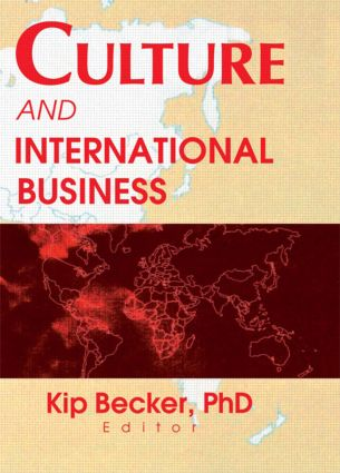 Culture and International Business: 1st Edition (Paperback) book cover