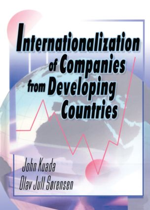 Internationalization of Companies from Developing Countries: 1st Edition (e-Book) book cover