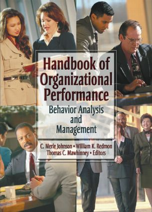 Handbook of Organizational Performance: Behavior Analysis and Management (Paperback) book cover