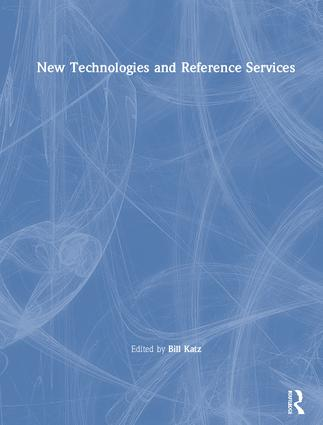 New Technologies and Reference Services book cover