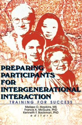 Preparing Participants for Intergenerational Interaction: Training for Success (Paperback) book cover