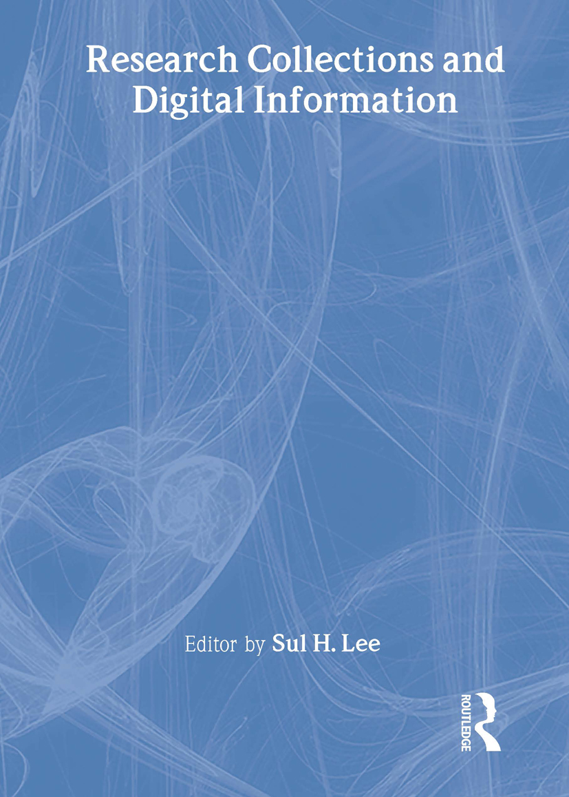Research Collections and Digital Information book cover