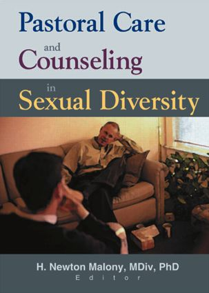 Pastoral Care and Counseling in Sexual Diversity (Paperback) book cover