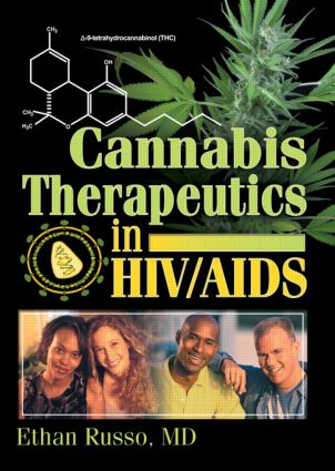 Cannabis Therapeutics in HIV/AIDS: 1st Edition (Paperback) book cover