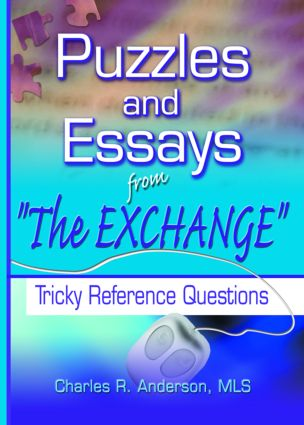 Puzzles and Essays from 'The Exchange': Tricky Reference Questions book cover