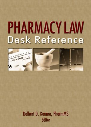Pharmacy Law Desk Reference book cover