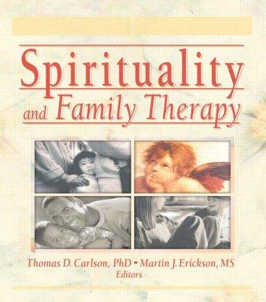 Spirituality and Family Therapy (Paperback) book cover
