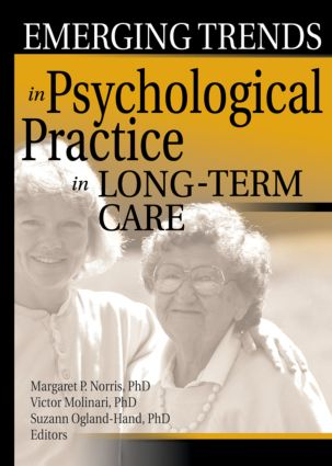 Emerging Trends in Psychological Practice in Long-Term Care (Paperback) book cover