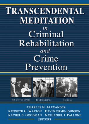 Transcendental Meditation® in Criminal Rehabilitation and Crime Prevention (Paperback) book cover