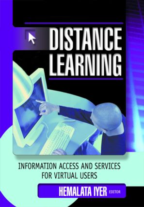 Distance Learning: Information Access and Services for Virtual Users, 1st Edition (Hardback) book cover