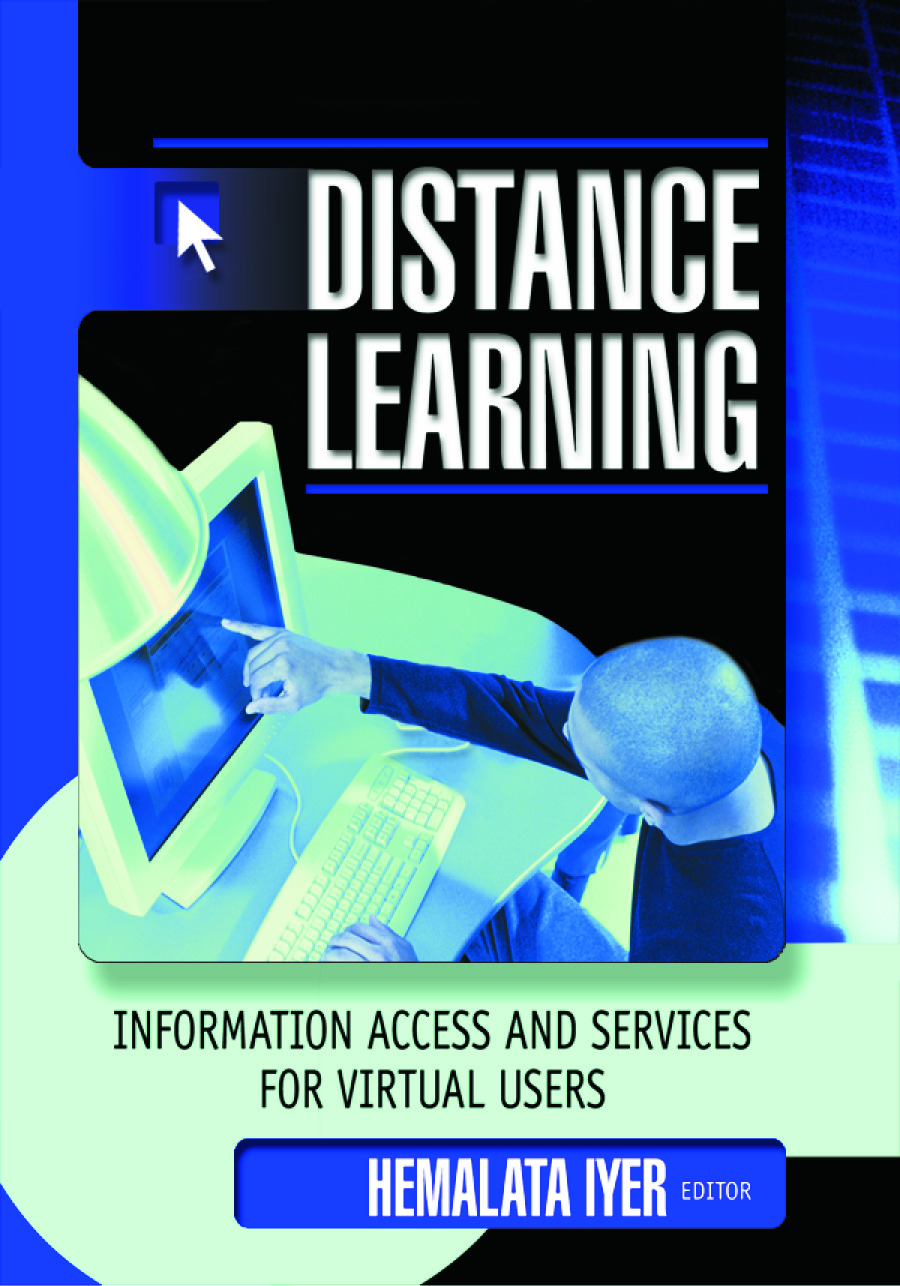 Distance Learning: Information Access and Services for Virtual Users, 1st Edition (Paperback) book cover
