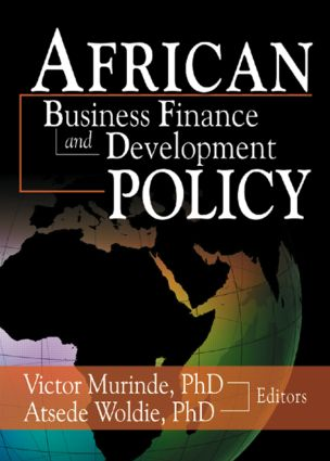 African Development Finance and Business Finance Policy: 1st Edition (Paperback) book cover