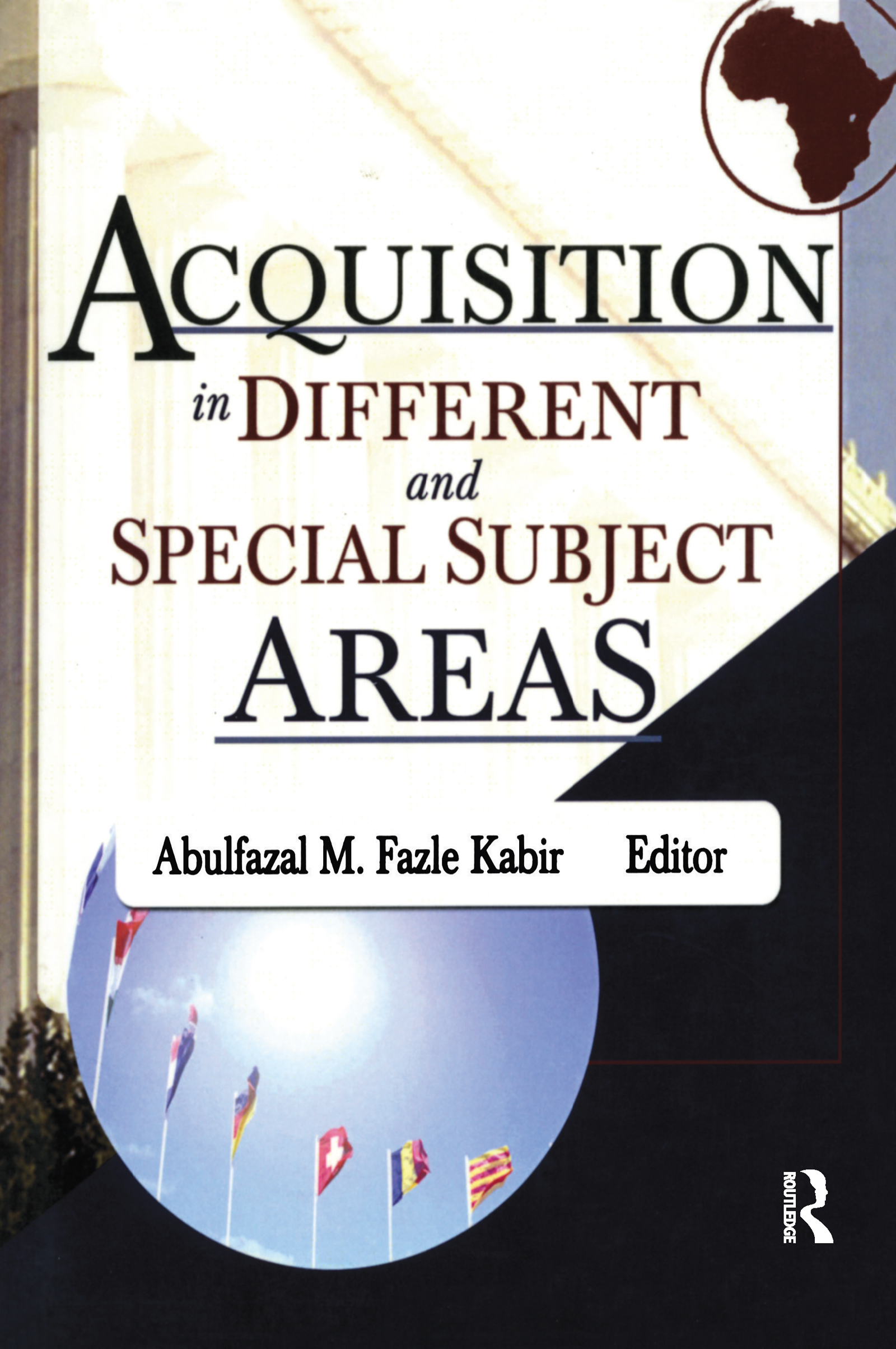 Acquisition in Different and Special Subject Areas: 1st Edition (Paperback) book cover