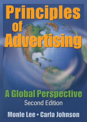 Principles of Advertising: A Global Perspective, Second Edition, 1st Edition (Paperback) book cover