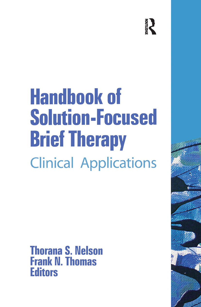 Handbook of Solution-Focused Brief Therapy: Clinical Applications book cover