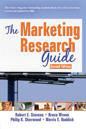 The Marketing Research Guide, Second Edition: 2nd Edition (Paperback) book cover