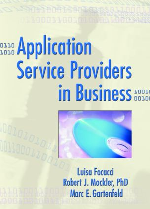 Application Service Providers in Business (Paperback) book cover