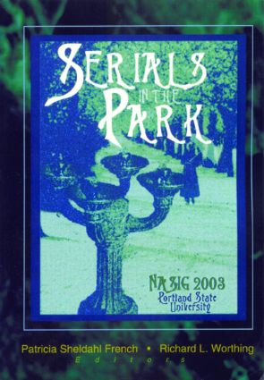 Serials in the Park book cover