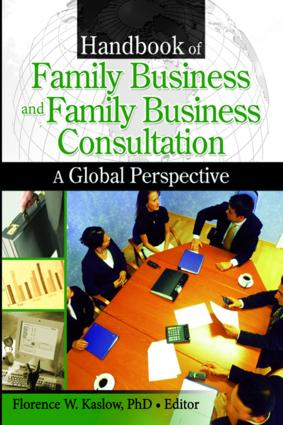 Handbook of Family Business and Family Business Consultation: A Global Perspective, 1st Edition (Paperback) book cover