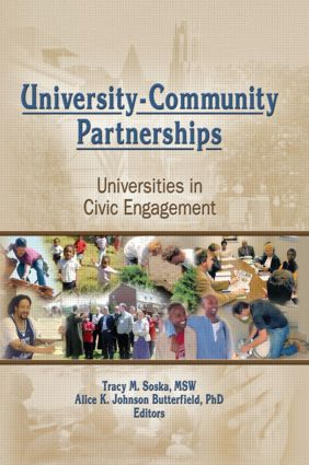University-Community Partnerships: Universities in Civic Engagement book cover