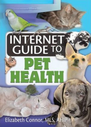 Internet Guide to Pet Health: 1st Edition (Paperback) book cover