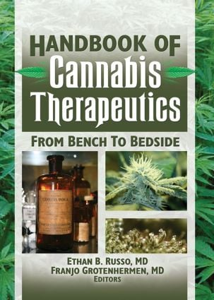 The Handbook of Cannabis Therapeutics: From Bench to Bedside, 1st Edition (Paperback) book cover