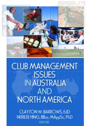 Club Management Issues in Australia and North America: 1st Edition (Paperback) book cover