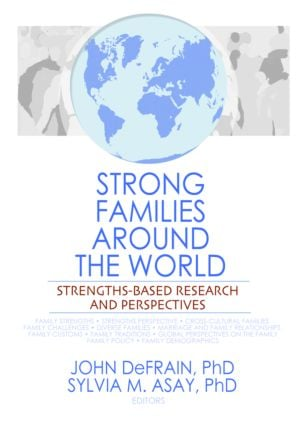 Strong Families Around the World: Strengths-Based Research and Perspectives (Hardback) book cover