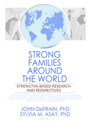 Strong Families Around the World: Strengths-Based Research and Perspectives (Paperback) book cover