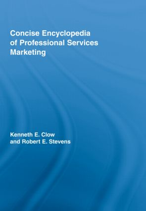 Concise Encyclopedia of Professional Services Marketing: 1st Edition (Hardback) book cover