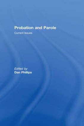 Probation and Parole (Paperback) book cover