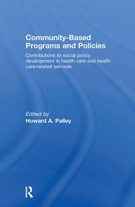 Community-Based Programs and Policies