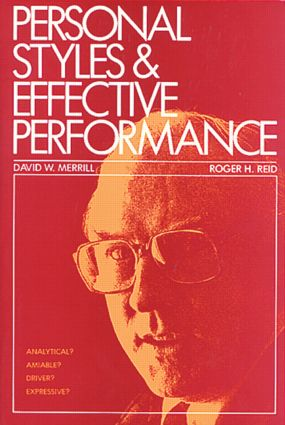 Personal Styles & Effective Performance (Paperback) book cover