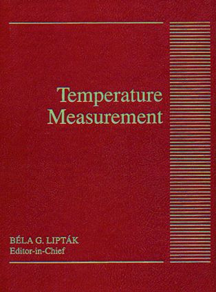 Temperature Measurement: 1st Edition (Hardback) book cover