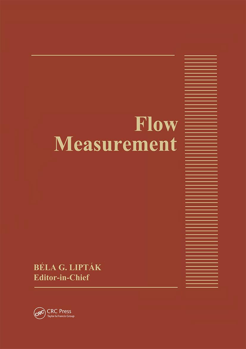 Flow Measurement: 1st Edition (Hardback) book cover