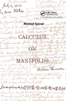 Calculus On Manifolds