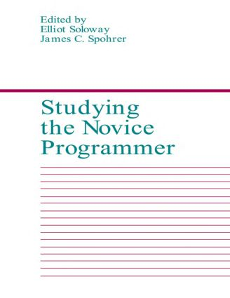 Studying the Novice Programmer book cover