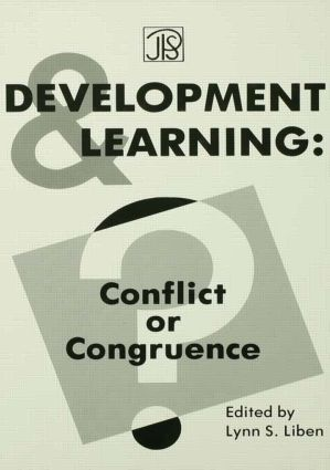 Development Learning: Conflict Or Congruence? (Hardback) book cover